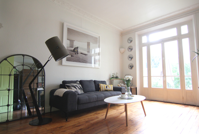 D co mon salon le blog mode de st phanie zwicky for Decoration petit appartement moderne