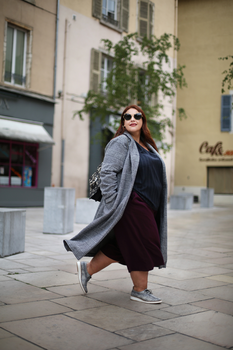 le manteau long  u00c0 carreaux  u2013 le blog mode de st u00e9phanie zwicky